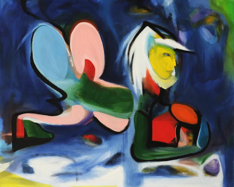 Aphrodite by the Sea, William Ankone 2000 (oil on canvas)