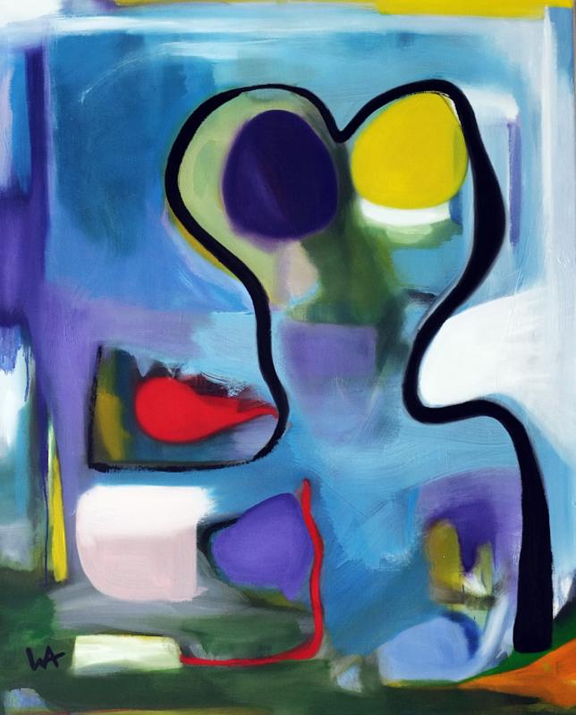 Vanity, William Ankone 2002 (oil on canvas)