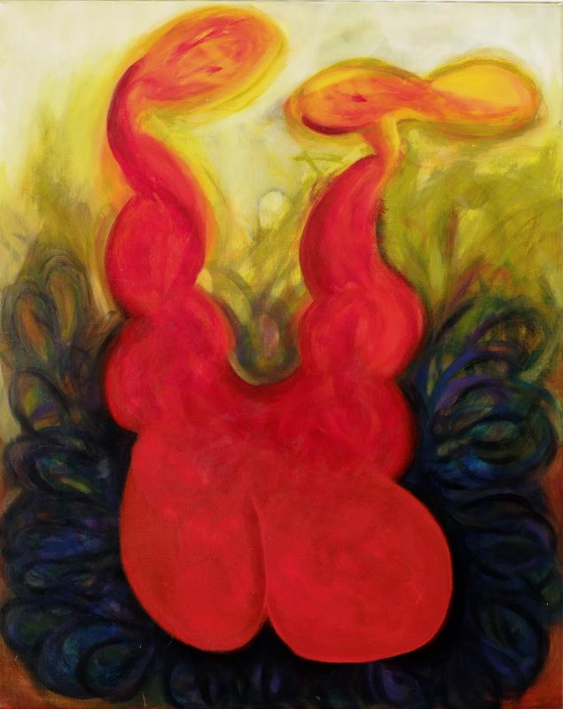 MLD 1, William Ankone 1995 (oil on canvas)