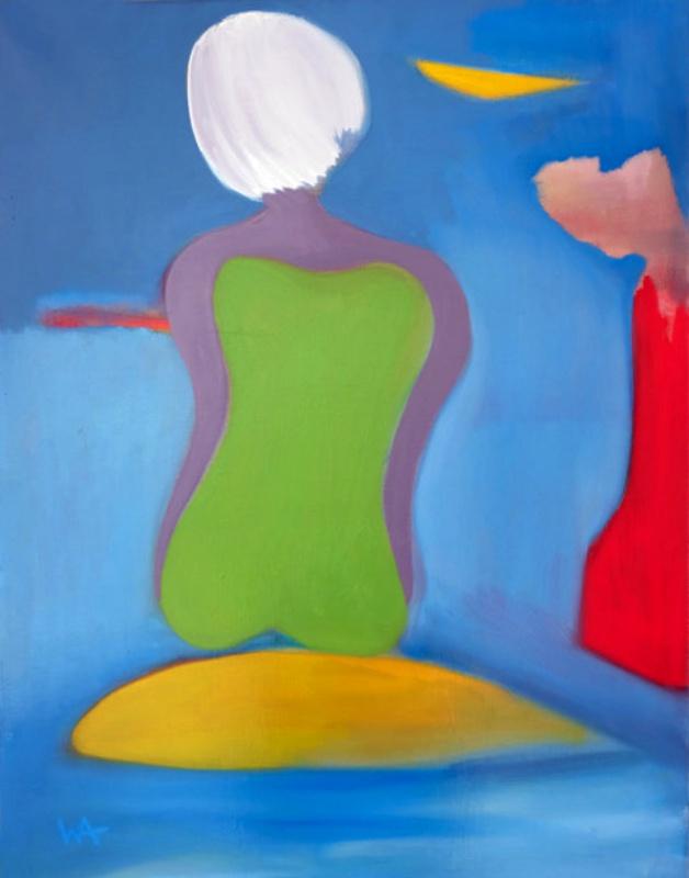 Summersun, William Ankone 1996 (oil on canvas)