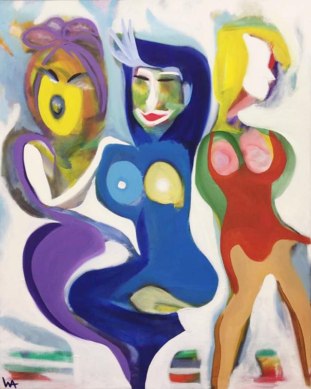 GmbH, William Ankone 2003 (oil on canvas)