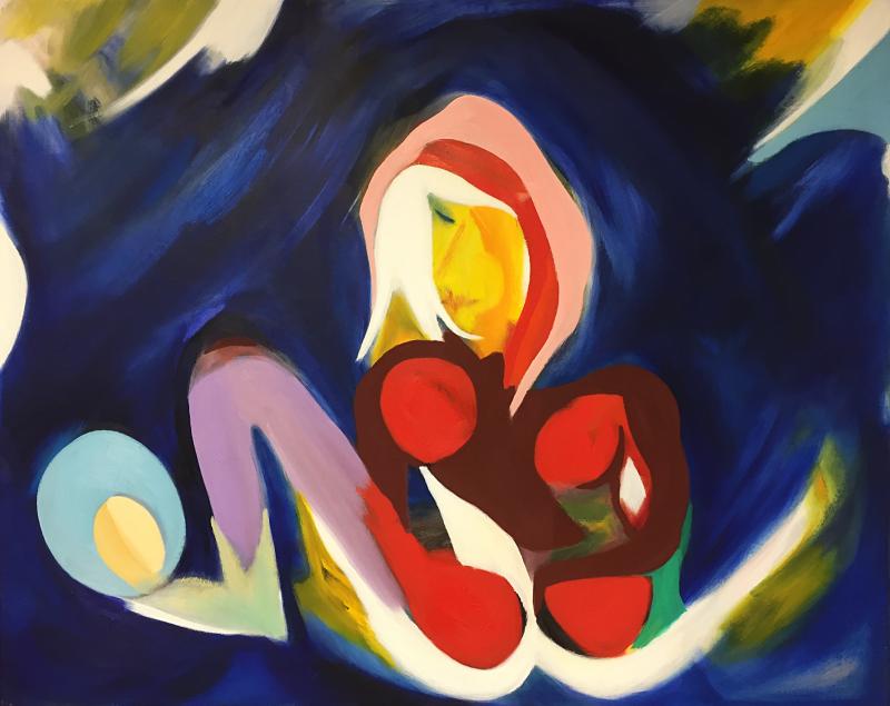 Niura, William Ankone 2003 (oil on canvas)